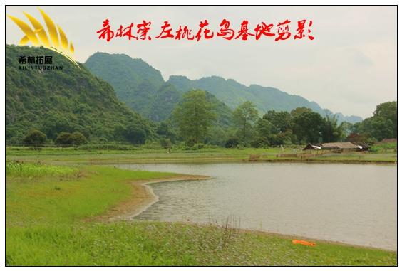 竹子墙竹子瓦,采用金黄色的暖色调,给人一种朴素又富丽堂皇的感觉.